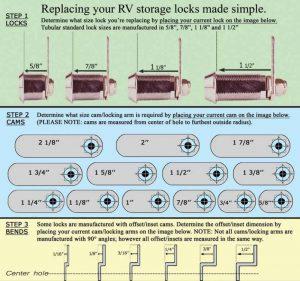 CH751.com lock measure guide