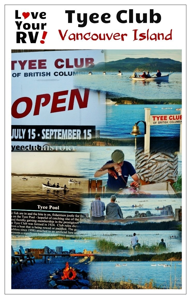 Checking Out The Tyee Club in Campbell River BC   Love Your RV! blog - https://www.loveyourrv.com/ #VancouverIsland