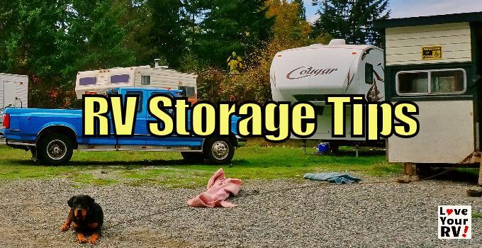 11 Helpful Tips For Rv Storage