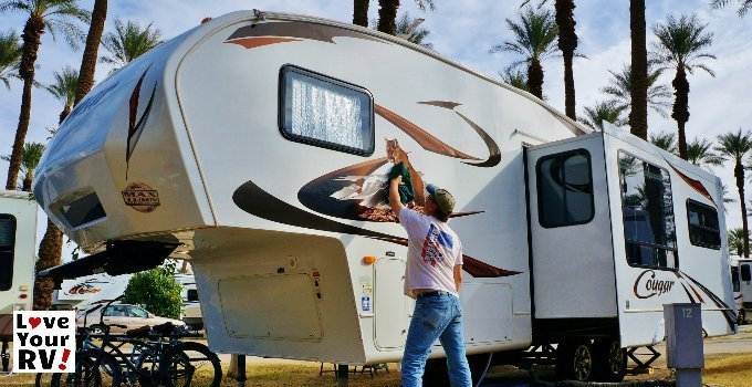 Cleaning the RV Tips