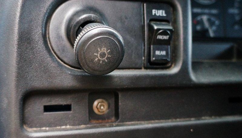 Hidden Dash Panel Screw