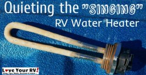 RV Hot Water Heater Feature Photo