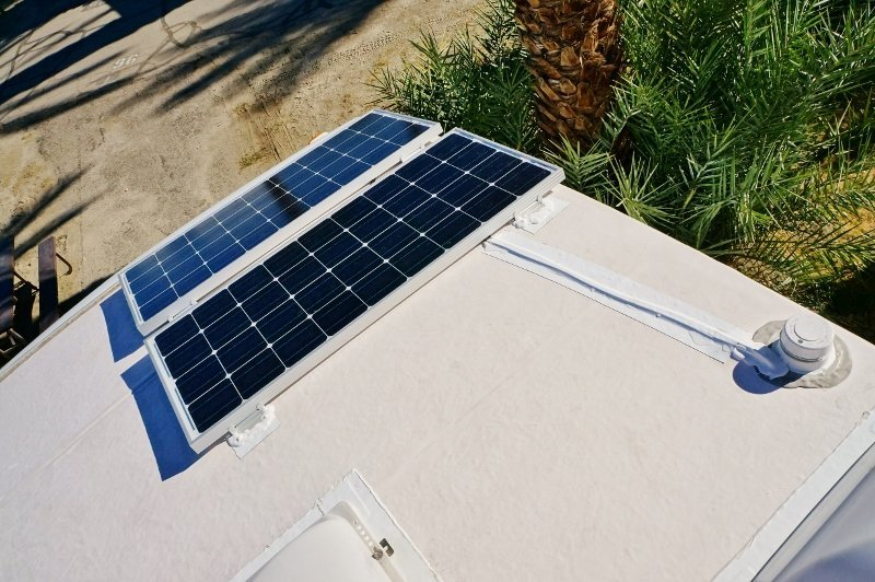 200 watt solar installation