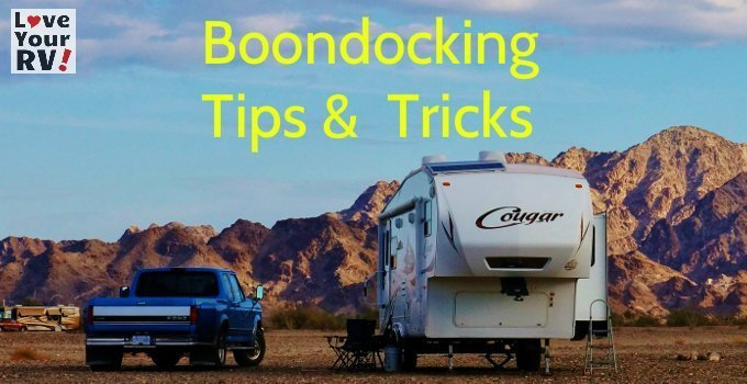 RV Boondocking Tips and Tricks Feature Photo