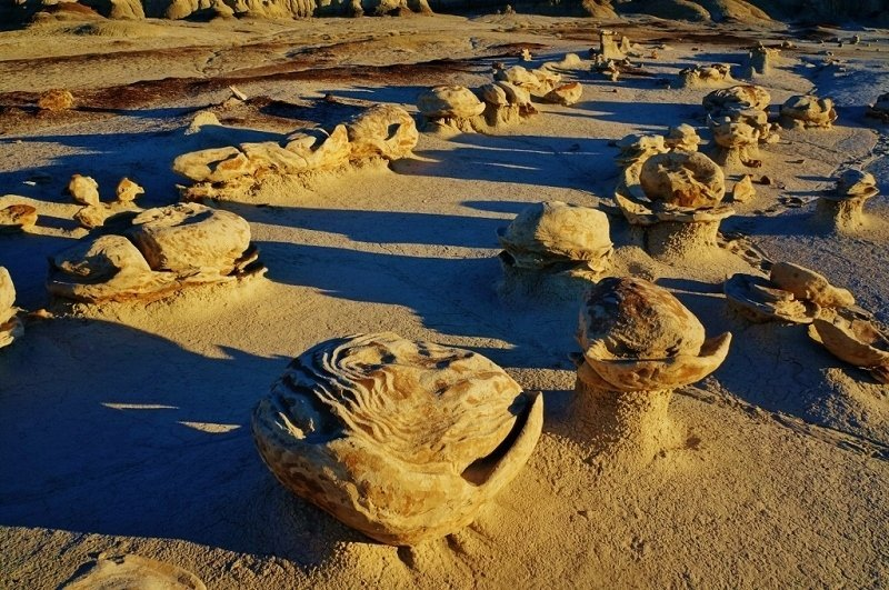 Alien Egg Factory Bisti Badlands