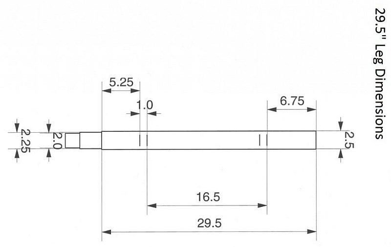 Leg Dimensions