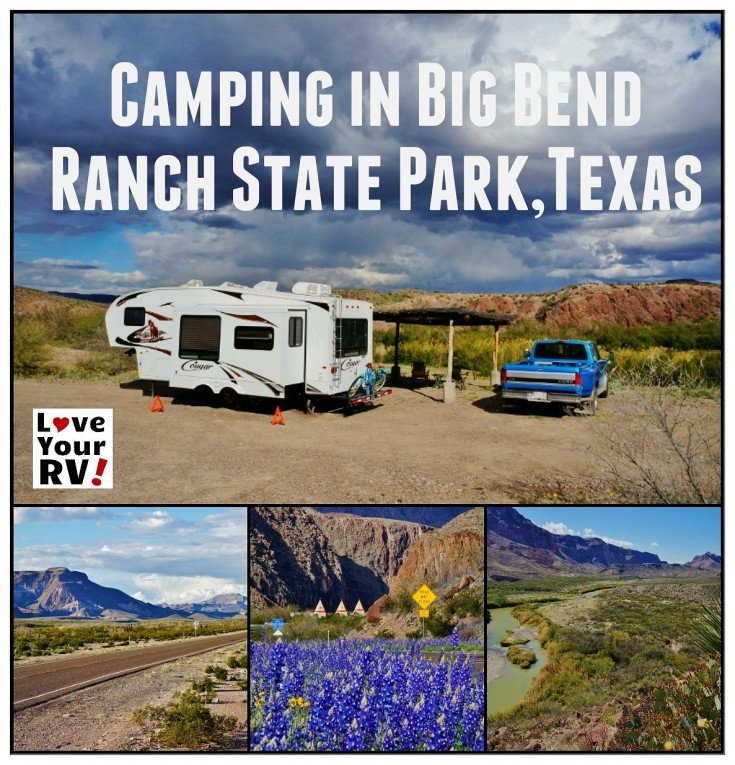 Camping in Big Bend Ranch State Park Texas | Love Your RV! blog - https://www.loveyourrv.com/