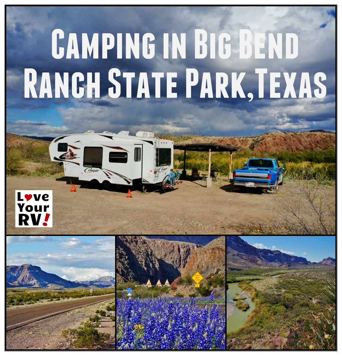 Rving Big Bend Ranch State Park In Texas