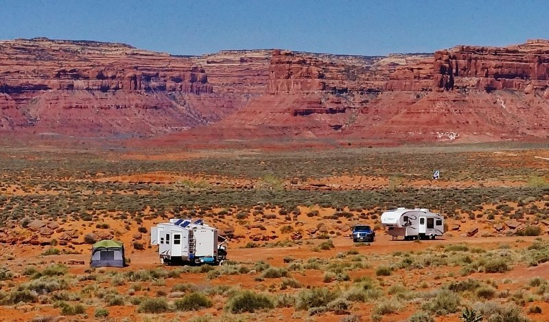 Boondocked in the Valley of the Gods