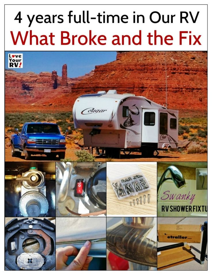 What Repairs Has Our Keystone Cougar Trailer Needed in 4 Years? | Love Your RV! blog - https://www.loveyourrv.com/