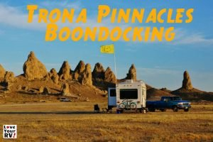 Trona Pinnacles Boondocking Feature Photo