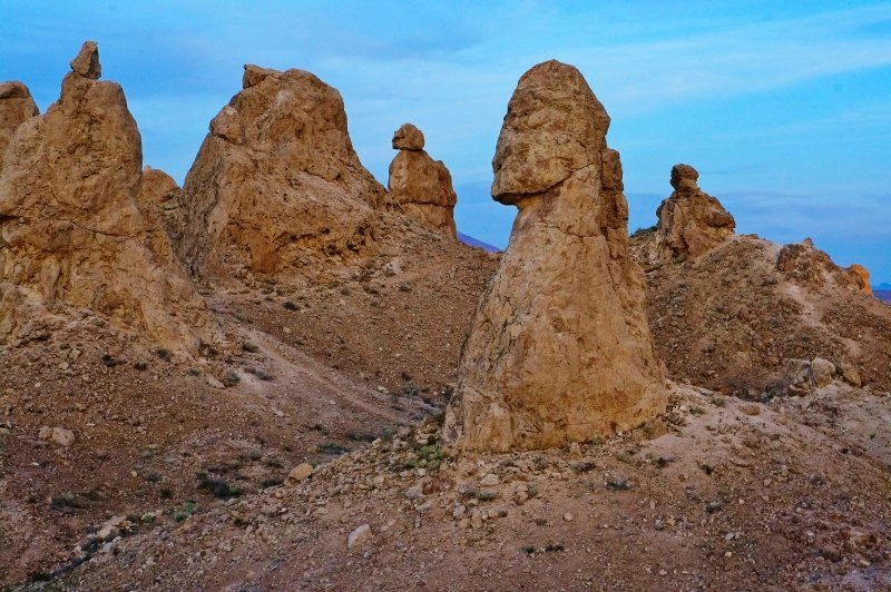 Trona Pinnacles landscape