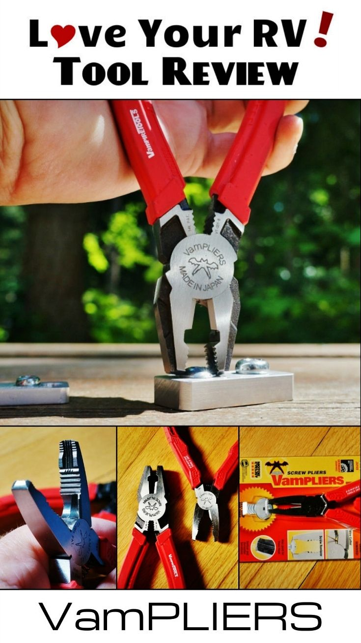 VamPLIERS Screw Extraction Pliers Review by Love Your RV! - https://www.loveyourrv.com/ #RV #Tools