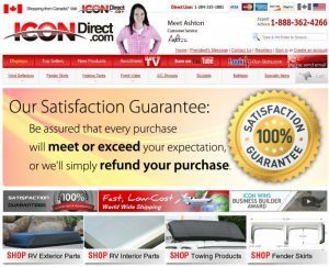 Icon Direct Website