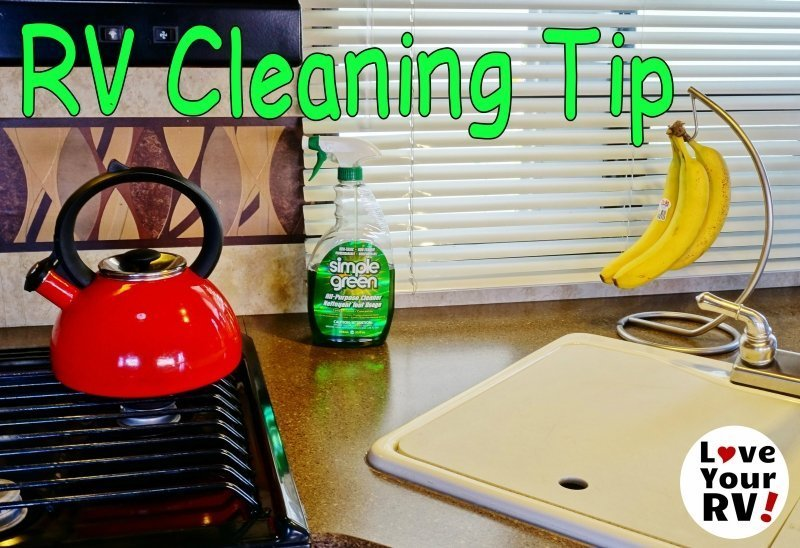 RV Cleaning with Simple Green Feature photo