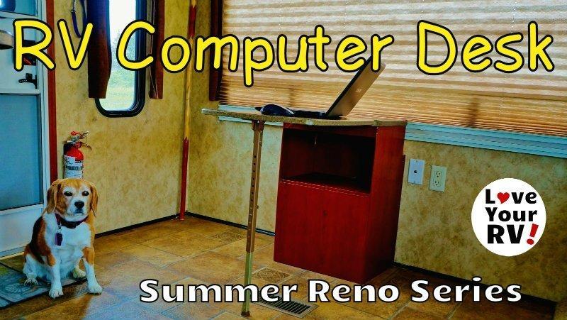 RV Computer Desk Feature Photo
