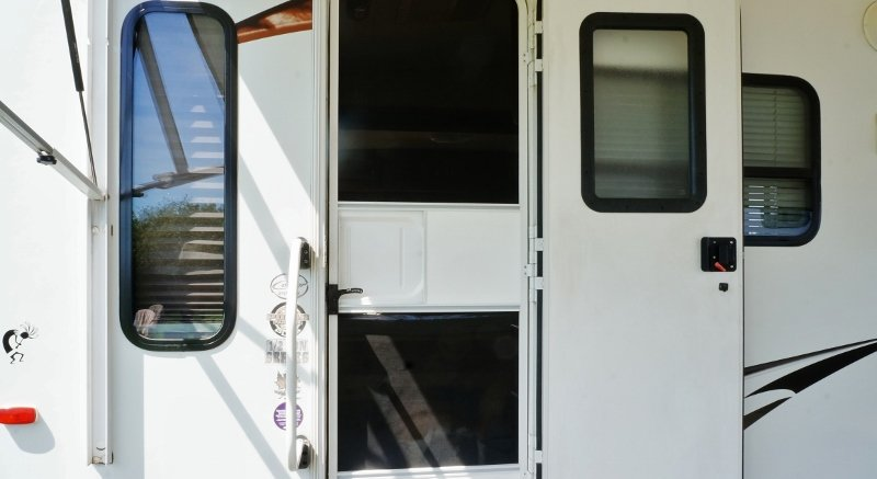 RV Entrance Door