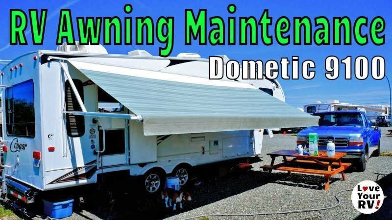 RV Power Awning Super Easy Maintenance feature photo