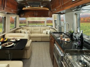 Airstream Trailer With Infinity flooring
