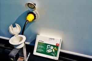 New Park Power Plug installed