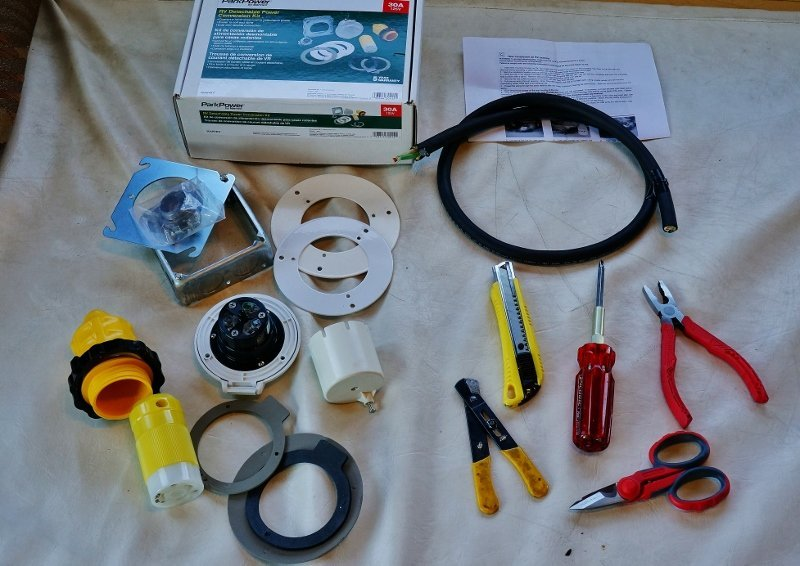 Installing a Marinco 30 Amp RV Power Plug Conversion Kit