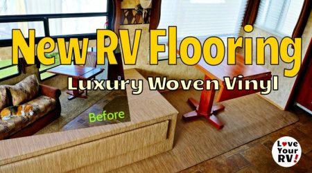 Summer Renovation Part 5– Replacing the RV Slide Flooring