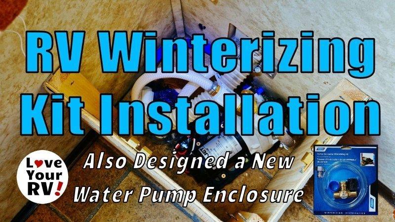 Camco RV Winterizing Kit Installaton Feature Photo