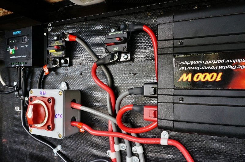Sensational Upgrading My Rv Battery Bank And 12 Volt System Wiring Digital Resources Anistprontobusorg