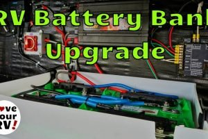 RV Battery Bank upgrade feature photo
