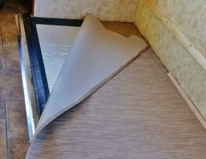 Slide flooring install