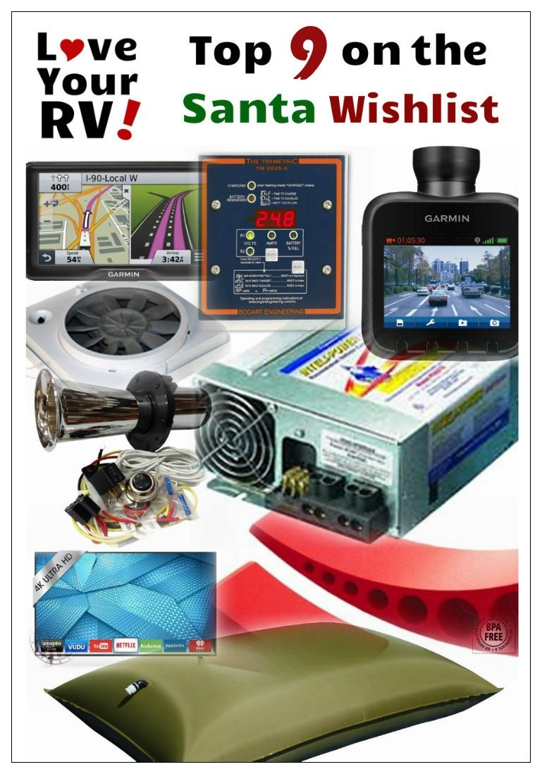 Love Your RV 2015 Santa Wishlist