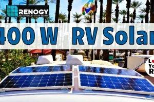 Renogy 400 Watt Solar Upgrade Feature Photo