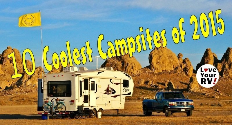 Ten Coolest Campsite of 2015 Feature Photo