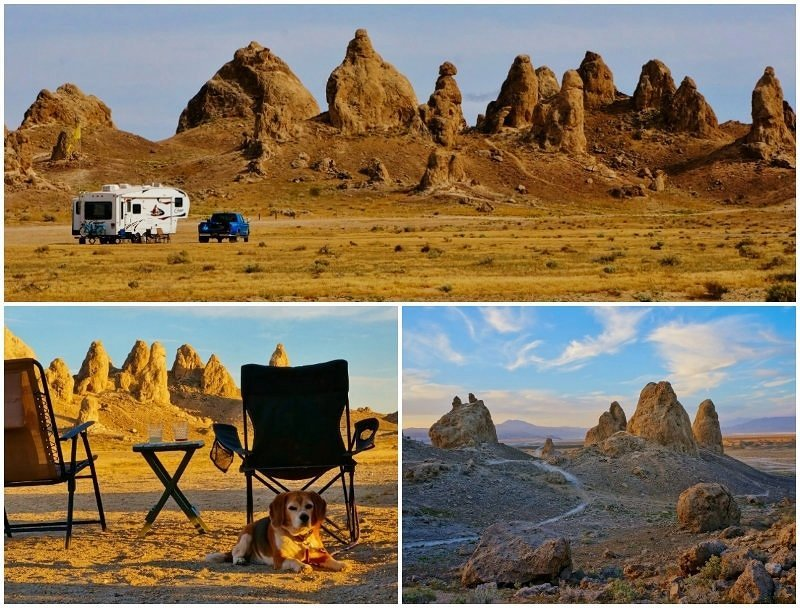 Trona Pinnacles BLM California