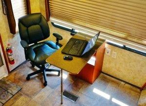 Custom RV Computer Desk