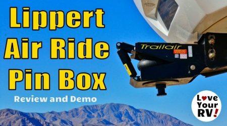 Lippert Air Ride Pin Box Review and Demo