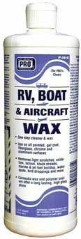 RV Boat and Aircraft Wax