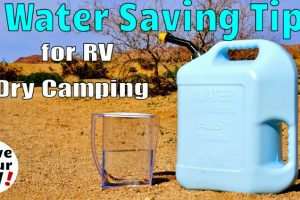 7 RV Water Saving Tips Feature photo