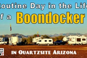 Day in the life an RV boondocker feature photo