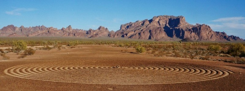 Spiral in the Kofa NWR