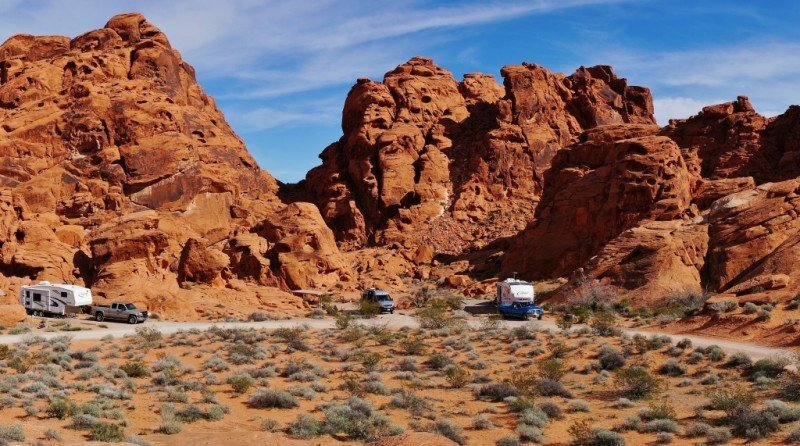 Arch Rock Campground Valley of Fire