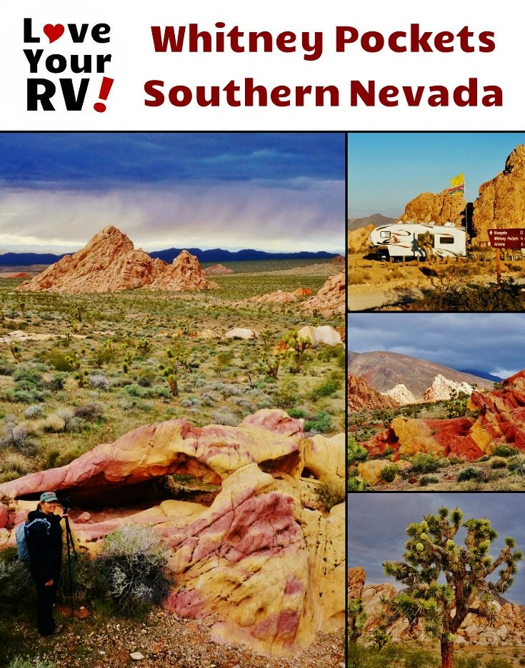 Camping and Photography at Whitney Pockets in Southern Nevada but the Love Your RV! blog - https://www.loveyourrv.com/ #boondocking #Nevada