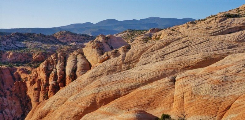 Candy Cliffs near St George Utah