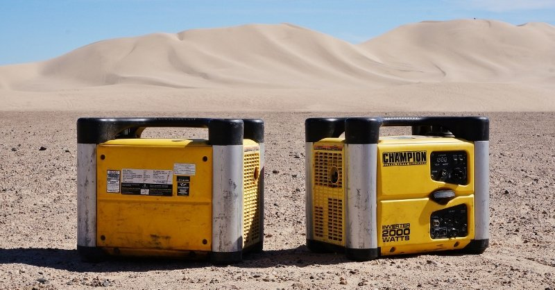 Champion 2000 watt generators