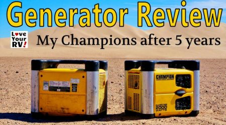 Champion Generator Review after 5 Years of Use