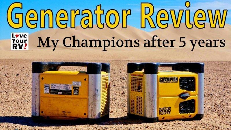 Champion Generator 5 year review feature photo
