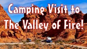 Valley of Fire Camping Feature Photo