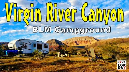Super Scenic Camping in the Virgin River Gorge