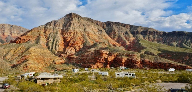 Virgin River Canyon Campground