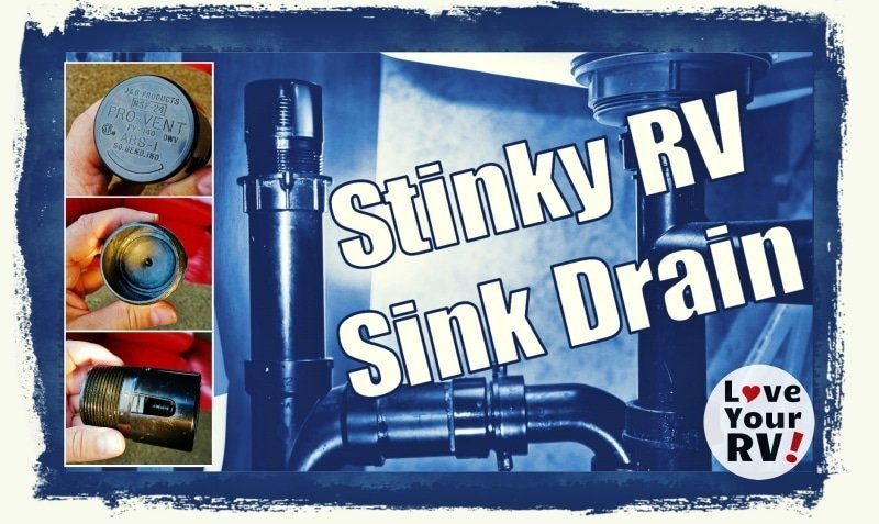 Why does the RV sink drain stink feature photo